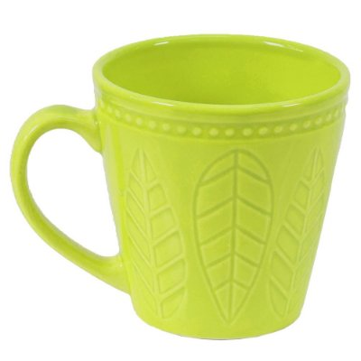 Caneca Corona Relieve 300ml Verde Mint - Yoi