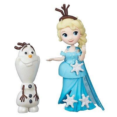 Mini Bonecos Frozen - Elsa e Olaf - Hasbro