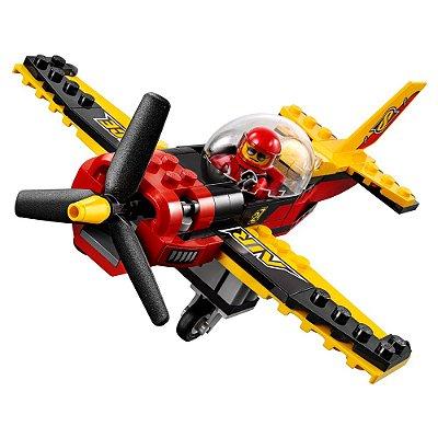 Lego City - Avião de Corrida