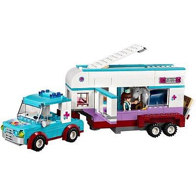 Lego Friends - Trailer Veterinário para Cavalos - Lego