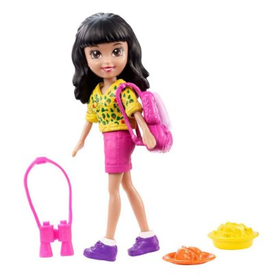 Polly Pocket Acampamento - Crissy - Mattel