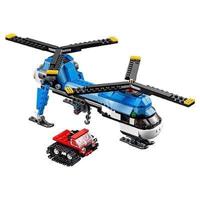 Lego Creator 3 em 1 - Helicóptero de Duas Hélices - Lego