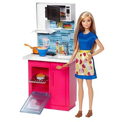 Boneca Barbie Móveis - Cozinha - Mattel