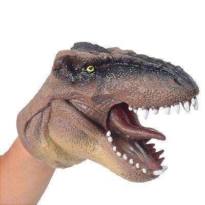Dino Fantoche Marrom - DTC