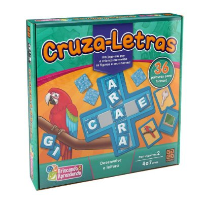 Jogo Cruza Letras - Grow