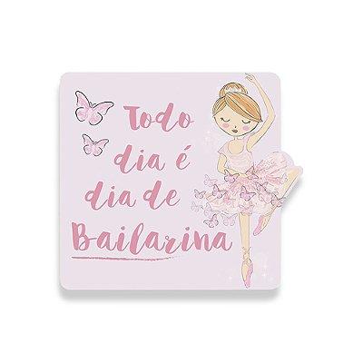 Quadro Decorativo Bailarina - Geguton