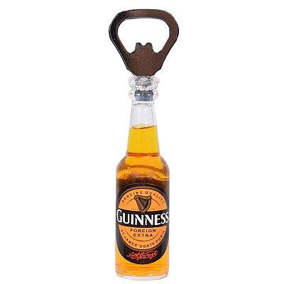 Abridor de Garrafas com Imã - Guinness