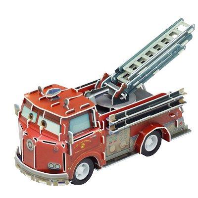 Quebra-Cabeça 3D - Carros - Red - DTC