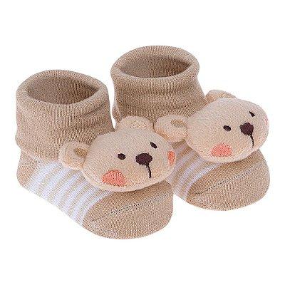 Meia Bichinhos Urso - Pimpolho