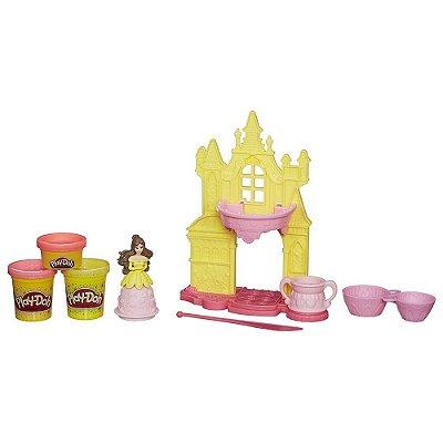 Play Doh Castelo Florido da Princesa Bela