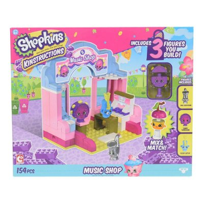 Shopkins Kinstructions Music Shop - DTC