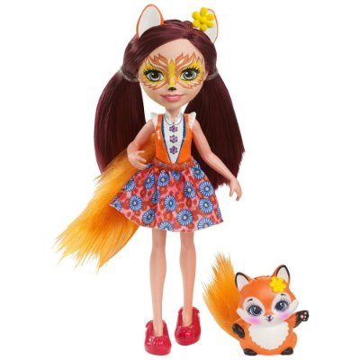 Enchantimals - Felicity Fox e Flick - Mattel