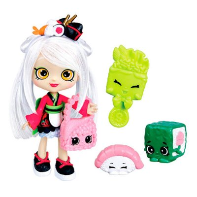 Shopkins - Boneca Shoppies Sara Sushi - DTC