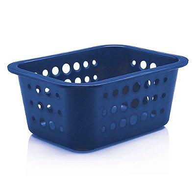 Caixa Organizadora Pequena - Azul Escuro - Ou