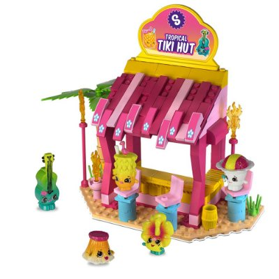 Shopkins Kinstructions Tiki Hut - DTC