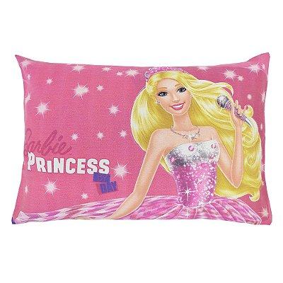 Fronha Avulsa Estampada - Barbie Rock Royals - Lepper