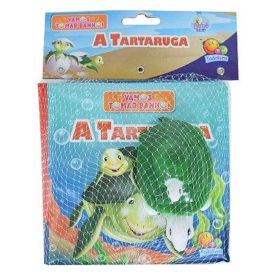 Livro de Banho - A Tartaruga