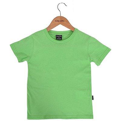 Camiseta Infantil Básica - Verde - Quimby