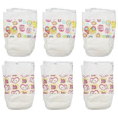 Fraldas para Boneca Baby Alive - Hasbro