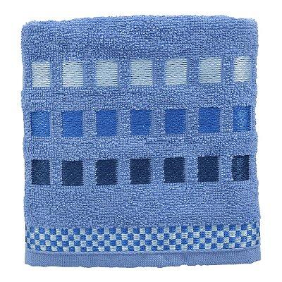 Toalha de Rosto Allegra Calera - Azul - Karsten
