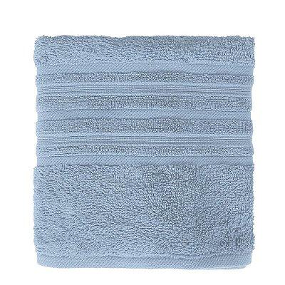 Toalha de Rosto Maxy Fio Penteado - Azul Claro - Karsten