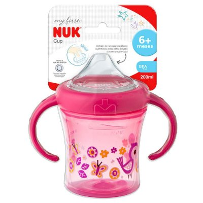 Copo de Treinamento My First Rosa - 200ml - Nuk