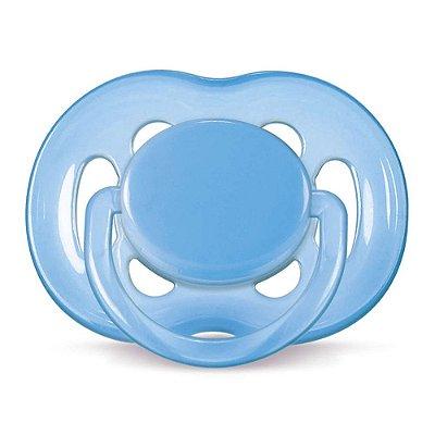 Chupeta Freeflow Ortodôntica - Fase 2 - Azul - Philips Avent