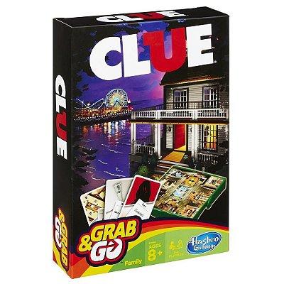 Jogo Clue Grab & Go - Hasbro