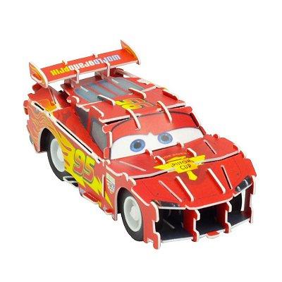 Quebra-Cabeça 3D - Carros - Relâmpago McQueen - DTC