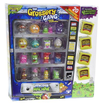 The Grossery Gang - Vencidos Machine - 20 personagens - DTC