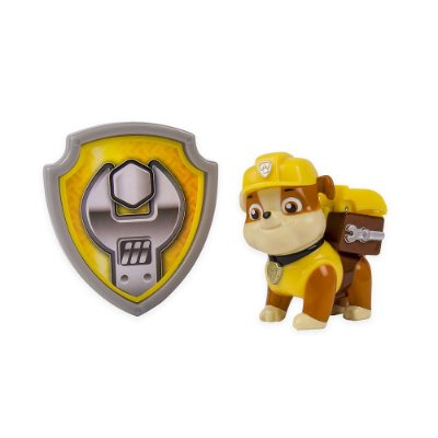 Boneco Rubble Kit Secreto com Distintivo - Patrulha Canina - Sunny
