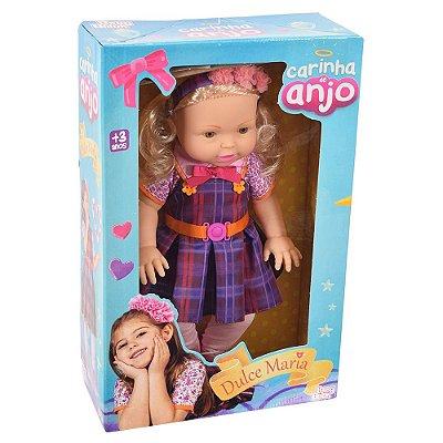 Boneca Dulce Maria - Carinha de Anjo - Baby Brink