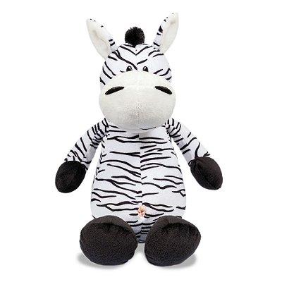 Pelúcia Zebra - Selva Animada - Buba