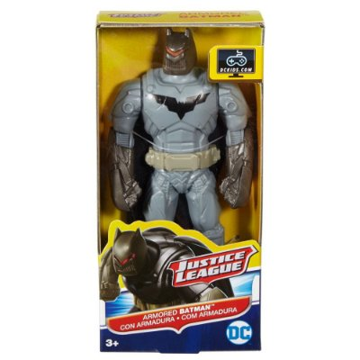 Liga da Justiça - Batman com Armadura - Mattel
