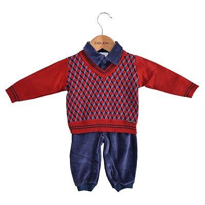 Conjunto Macacão com Suéter Classic