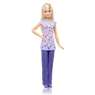 Boneca Barbie Profissiões - Enfermeira - Mattel