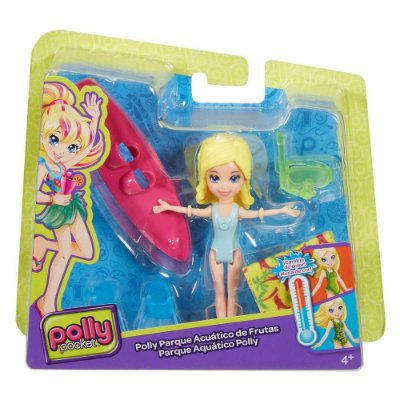 Polly Pocket - Parque Aquático Polly - Mattel