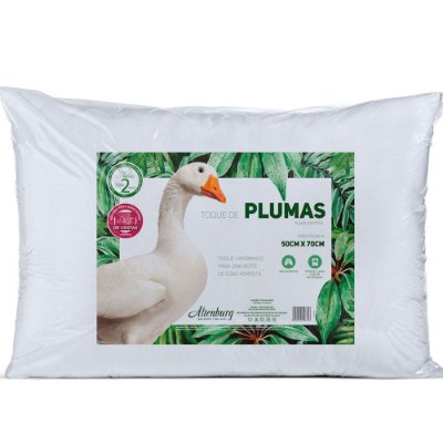 Travesseiro Toque de Plumas - Altenburg