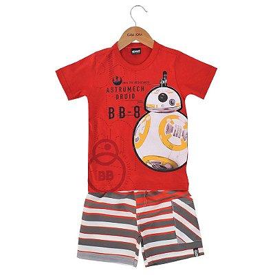 Conjunto Infantil BB-8 Star Wars - Malwee