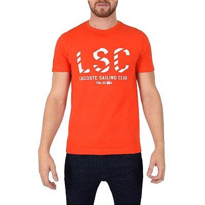 Camiseta Masculina Sailing Club Vermelha - Lacoste