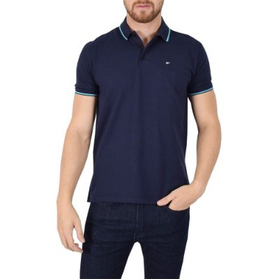 Camisa Polo Básica Marinho - Ellus