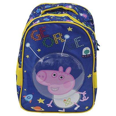 Mochila Infantil George Astronauta - Peppa Pig 16'' - Xeryus