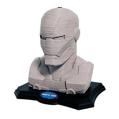 Puzzle Escultura 3D Homem de Ferro - Grow