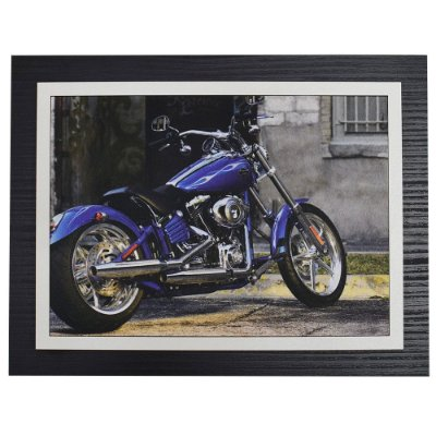 Quadro Decorativo Motorcycle - 30 x 23 cm