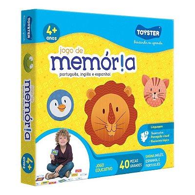 Jogo de Memória - Português, Inglês e Espanhol