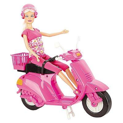 Boneca Lucy Scooter - Braskit