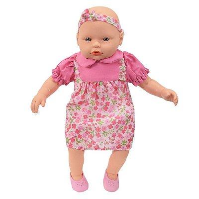 Boneca Mi Bambina Mini - Rosa - Roma