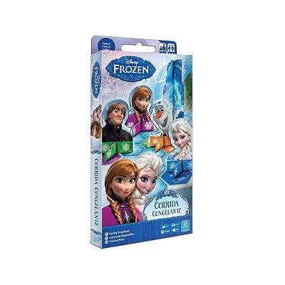 Jogo Corrida Congelante - Frozen - Copag