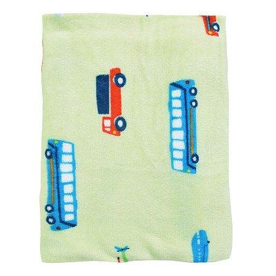 Manta Berço Flannel Transportes - 1,6 x 1,1 m - Corttex
