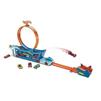 Hot Wheels Conjunto Completo Caminhão Manobra Radical - Mattel
